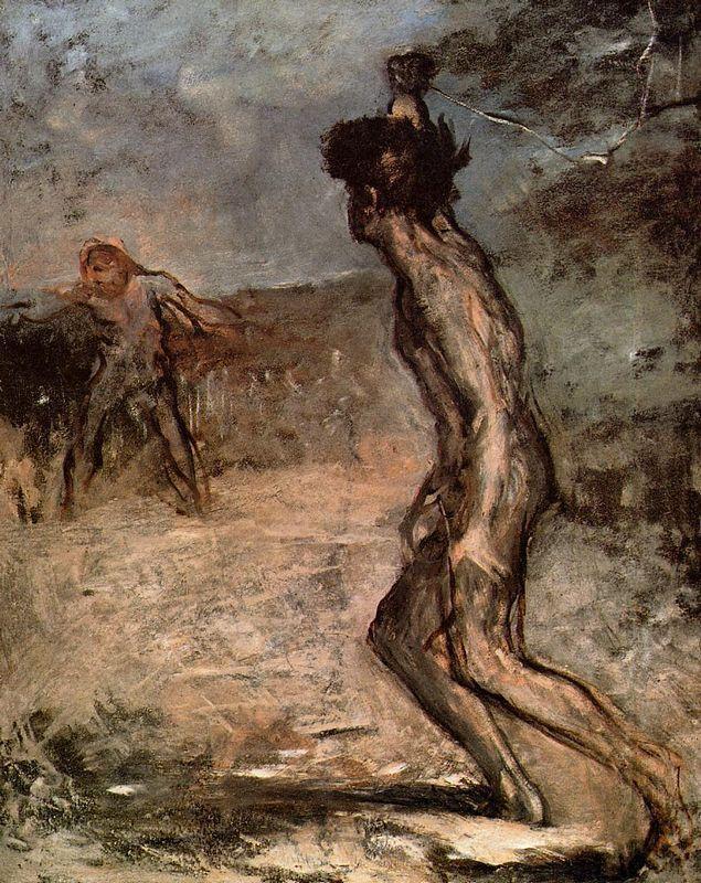 David and Goliath - Edgar Degas