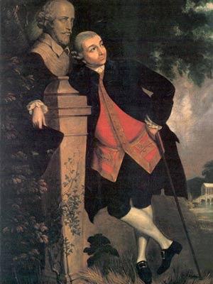 David-Garrick - Joshua Reynolds
