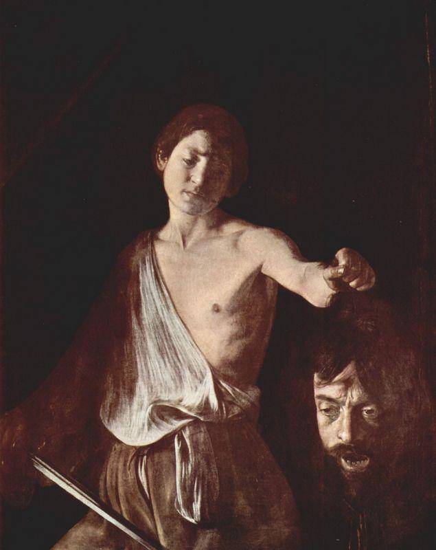 David with the Head of Goliath - Caravaggio