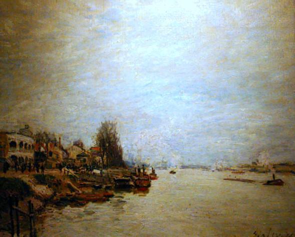 Dawn - Alfred Sisley