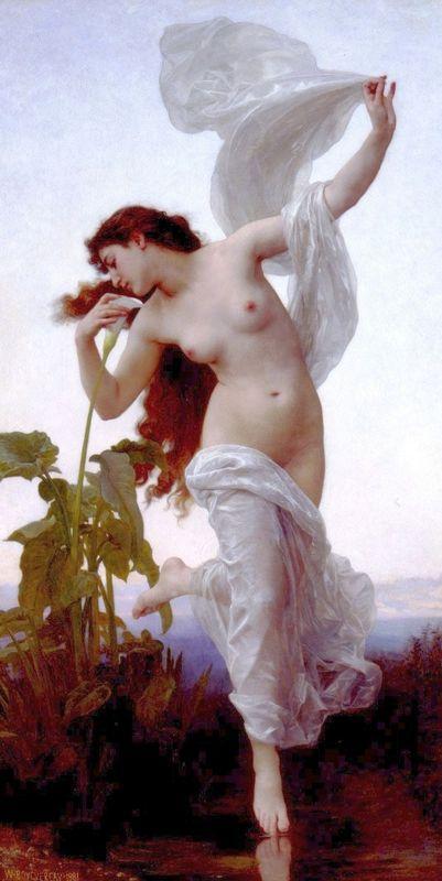 Dawn - William-Adolphe Bouguereau