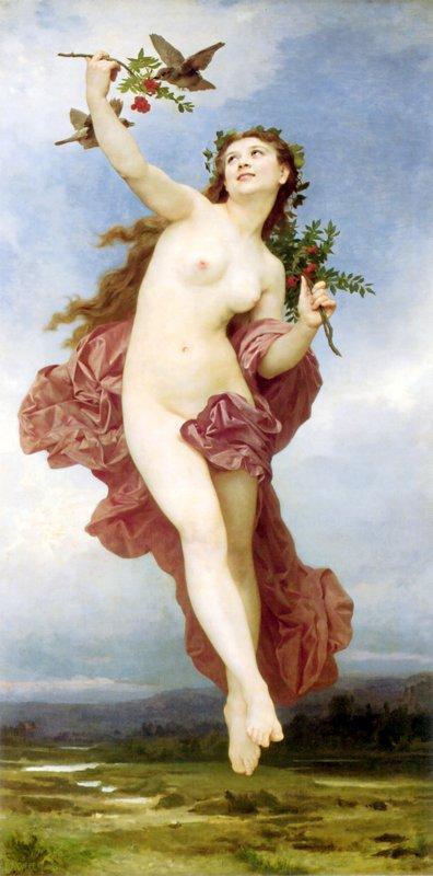 Day - William-Adolphe Bouguereau