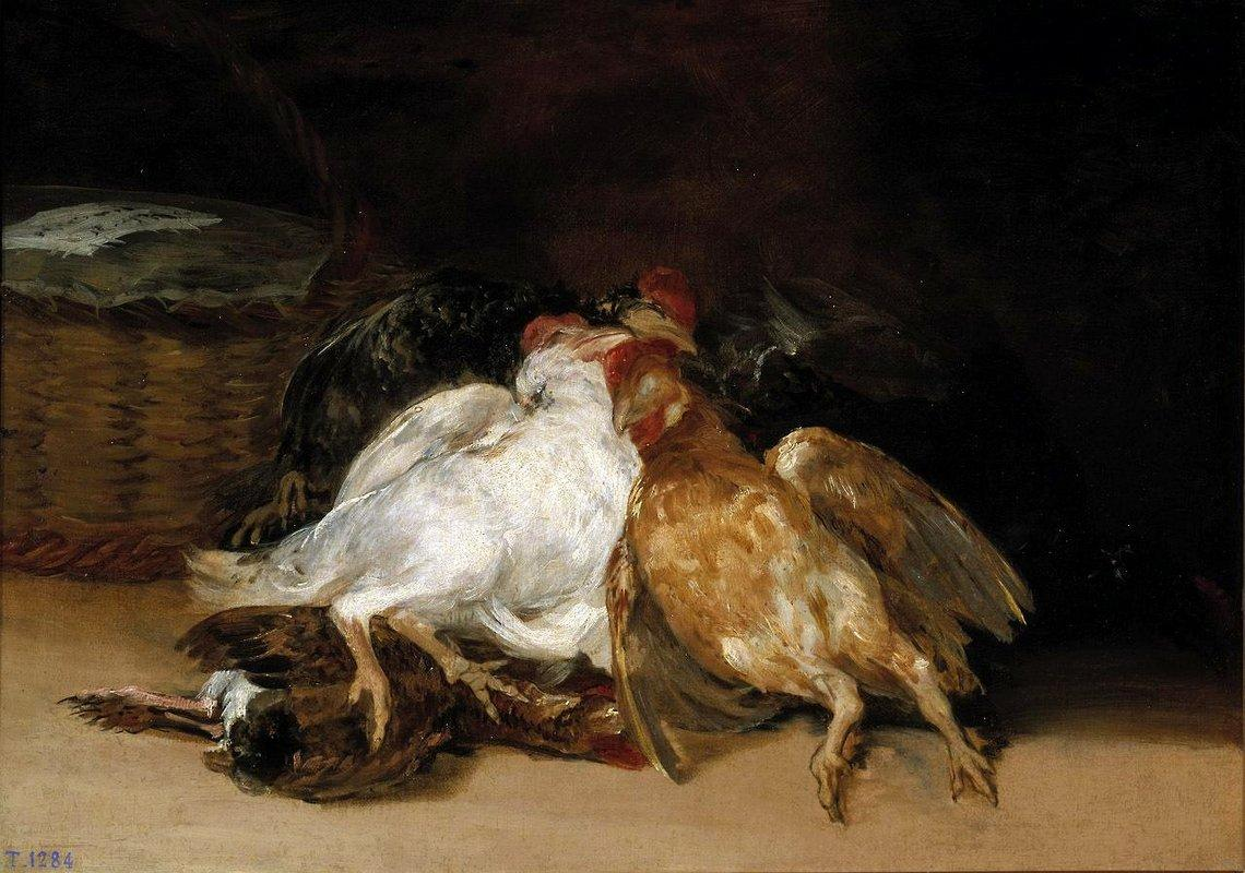 Dead Birds - Francisco Goya