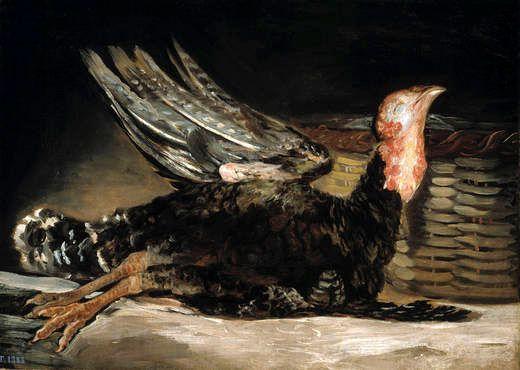 Dead turkey - Francisco Goya