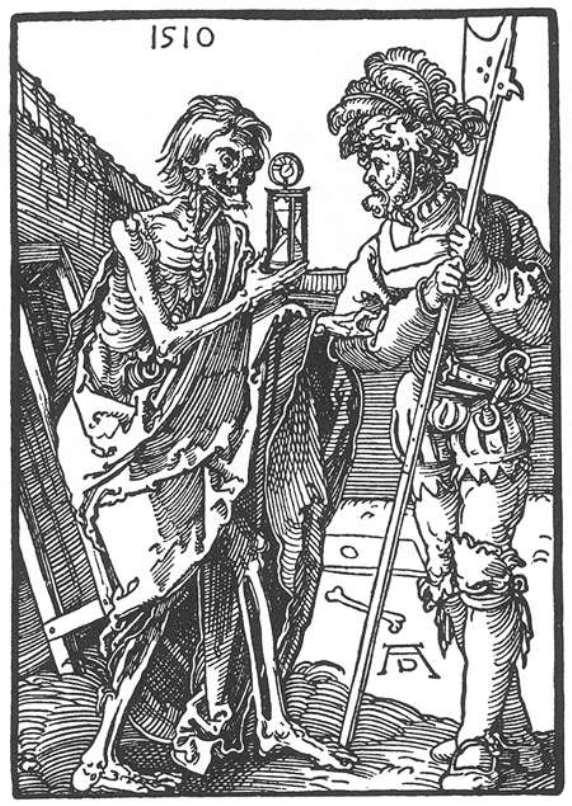 Death and the Landsknecht - Albrecht Durer