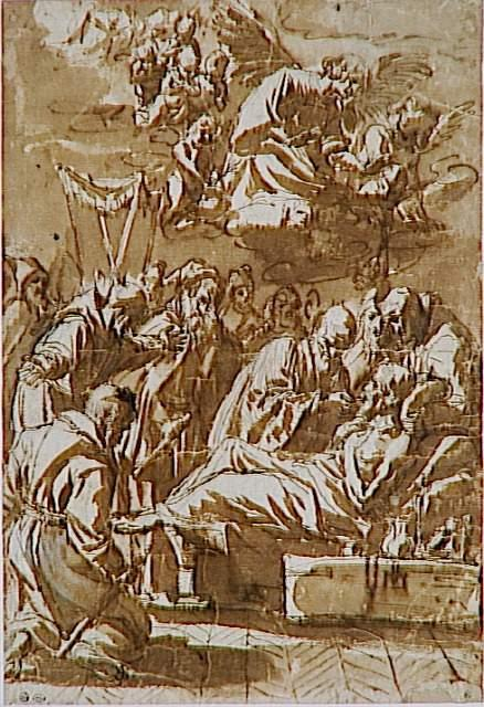 Death of a religious - Francisco de Zurbaran