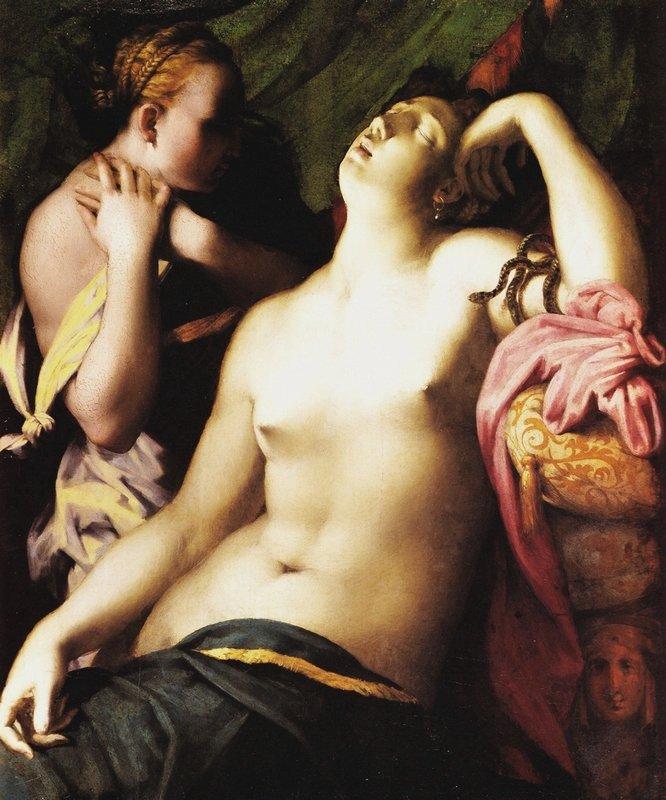 Death of Cleopatra - Rosso Fiorentino