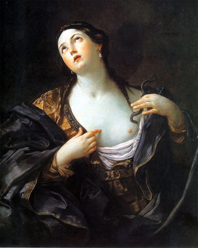 Death of Cleopatra - Guido Reni