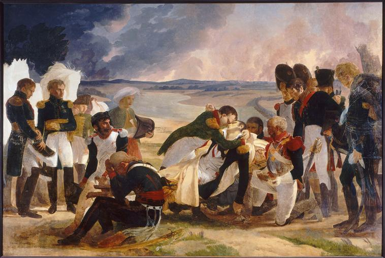 Death of Marshal Lannes, Duke of Montebello - Pierre-Narcisse Guerin