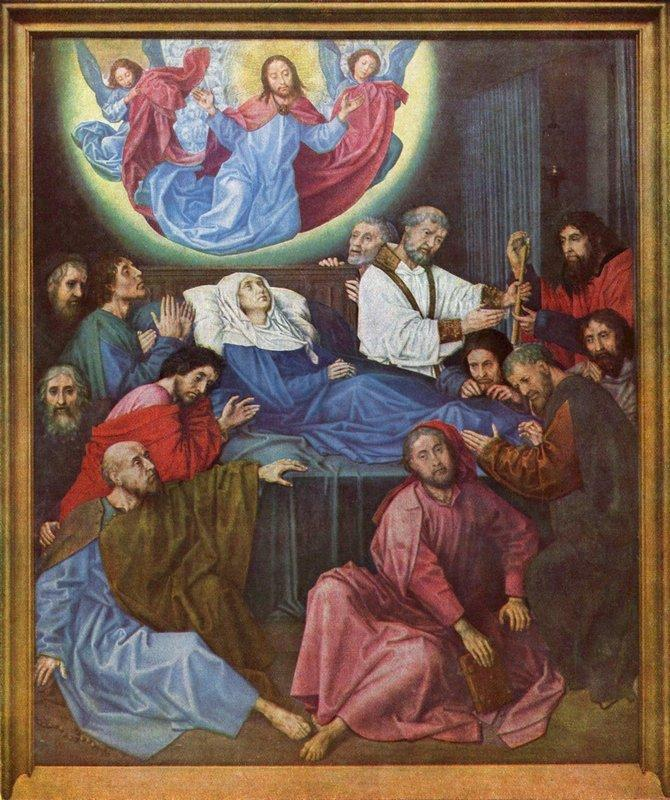 Death of the Virgin - Albrecht Durer