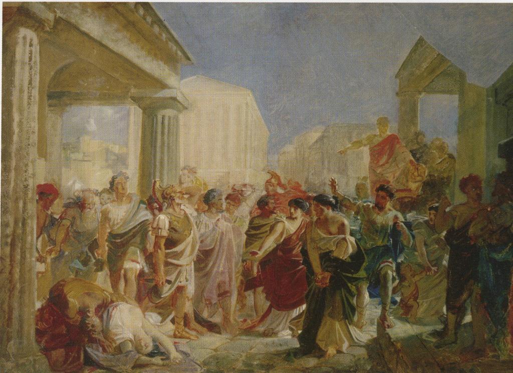 Death of Virginia, Study - Nikolai Ge