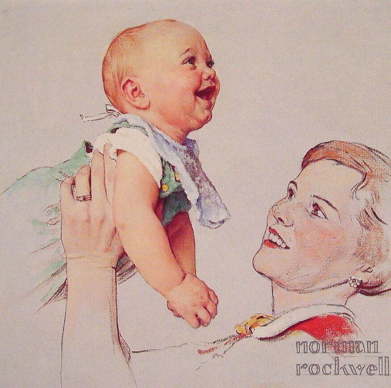 Delight - Norman Rockwell