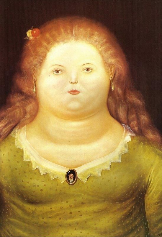 Delphine - Fernando Botero