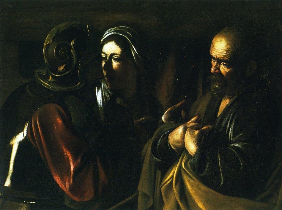 Denial of Saint Peter - Caravaggio
