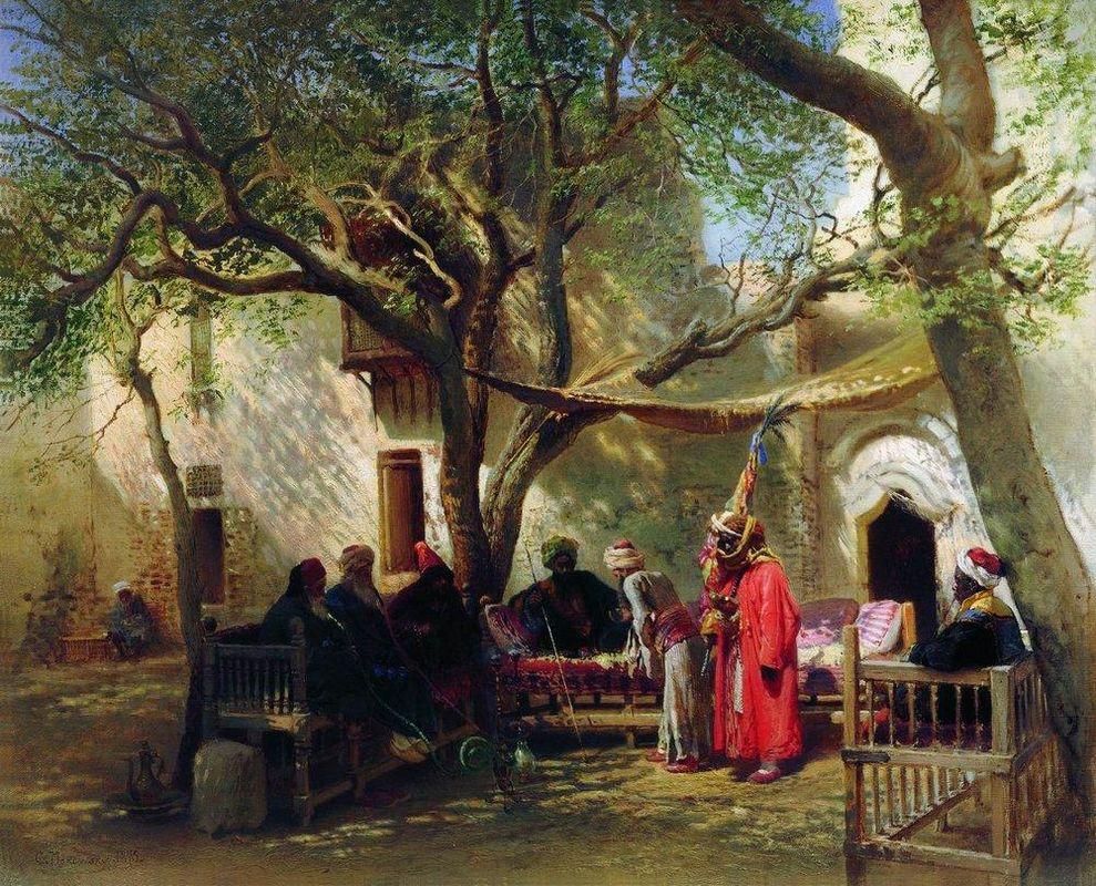 Dervishes in Cairo - Konstantin Makovsky