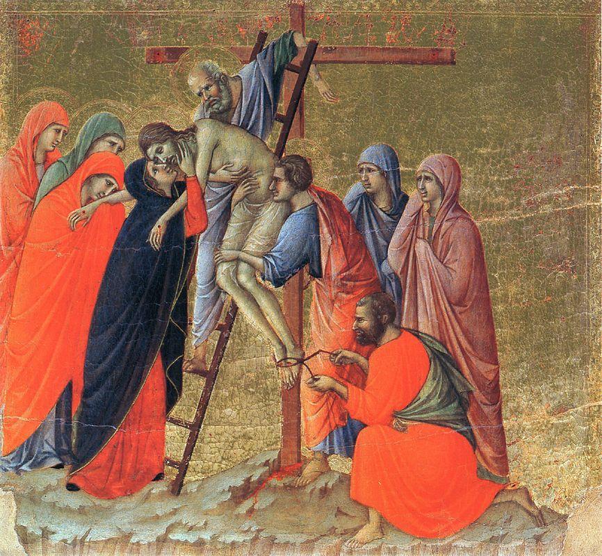 Descent from the Cross - Duccio