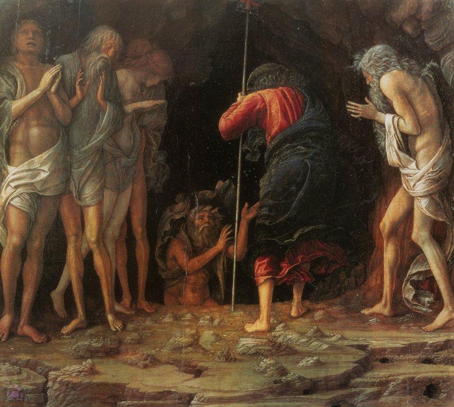 Descent into Limbo - Andrea Mantegna