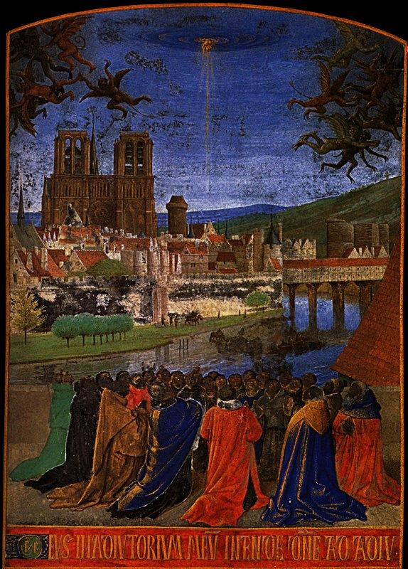Descent of the Holy Ghost upon the Faithful - Jean Fouquet