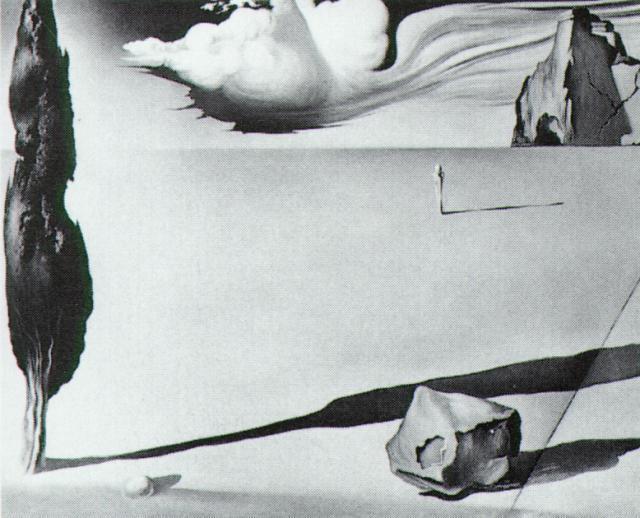 Design for the set of the film 'Spellbound' - Salvador Dali