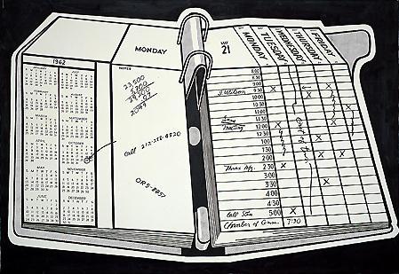 Desk calendar - Roy Lichtenstein