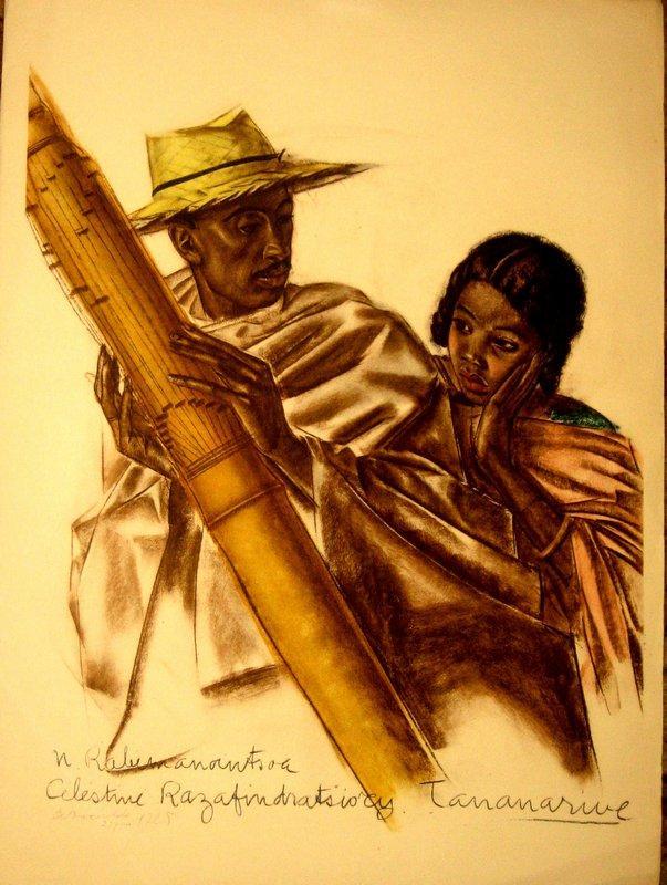 Dessins Et Peintures D'afrique Executes Au Cours De L'expedition Citroen Centre Afrique  - Alexandre Jacovleff