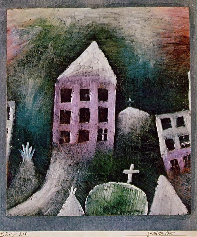 Destroyed place - Paul Klee