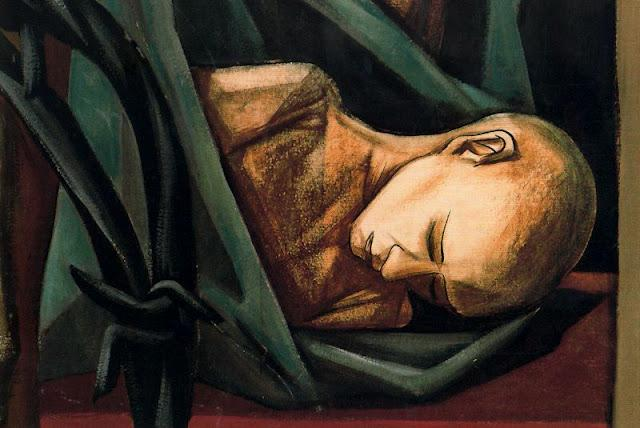 Mural of Human Rights. Dead Child (Detail) - Vela Zanetti