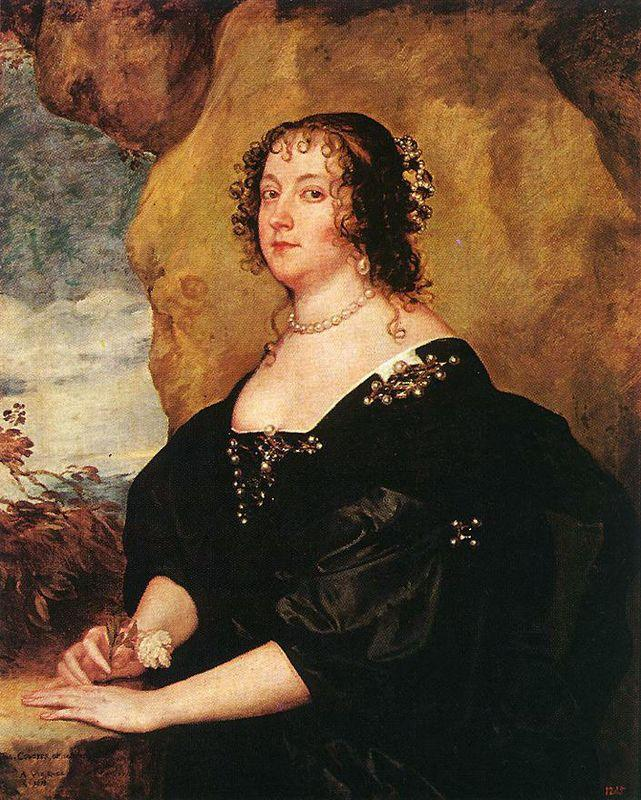 Diana Cecil, Countess of Oxford - Anthony van Dyck