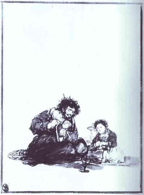 Diligent Blind Man - Francisco Goya
