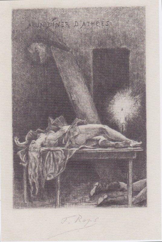 Dinner with Atheists - Felicien Rops