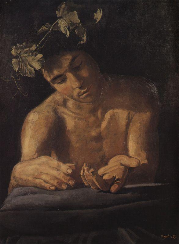 Dionysus, drunk - Yiannis Tsaroychis