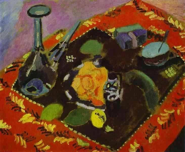 Dishes and Fruit  - Henri Matisse