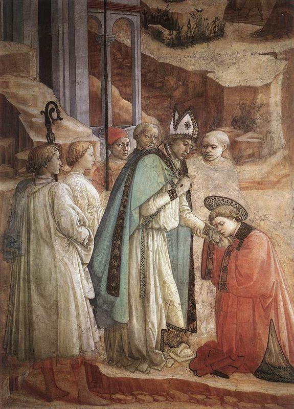 Disputation in the Synagogue  (detail) - Filippo Lippi