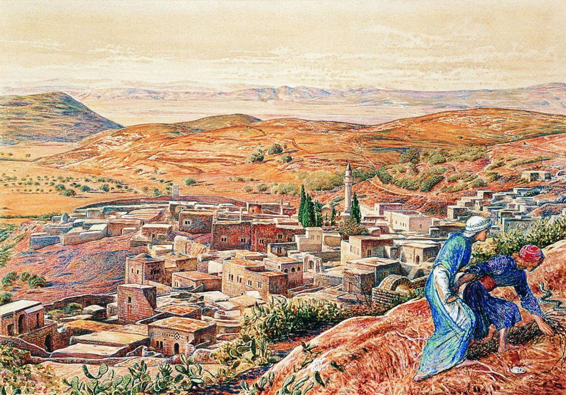 Distant View of Nazareth - William Holman Hunt