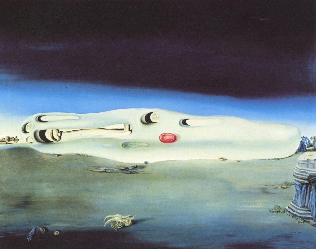 Diurnal Fantasies - Salvador Dali