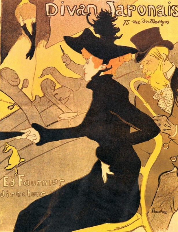 Divan Japonais - Henri de Toulouse-Lautrec