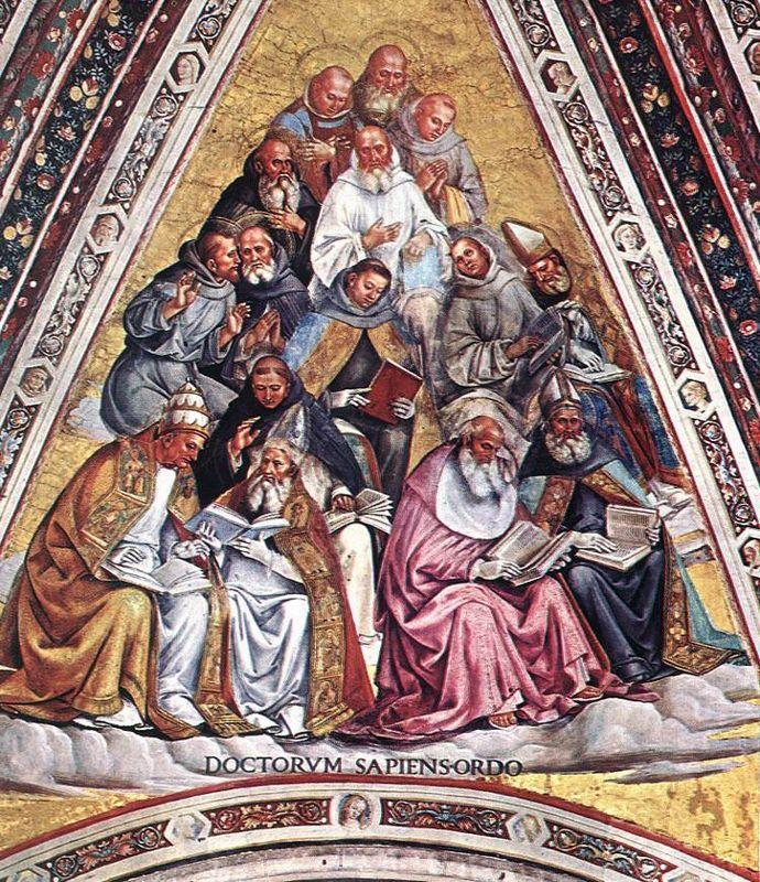 Doctors of the Church - Luca Signorelli