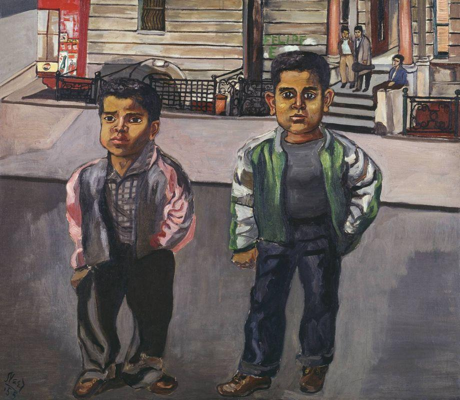 Dominican Boys on 108th Street - Alice Neel
