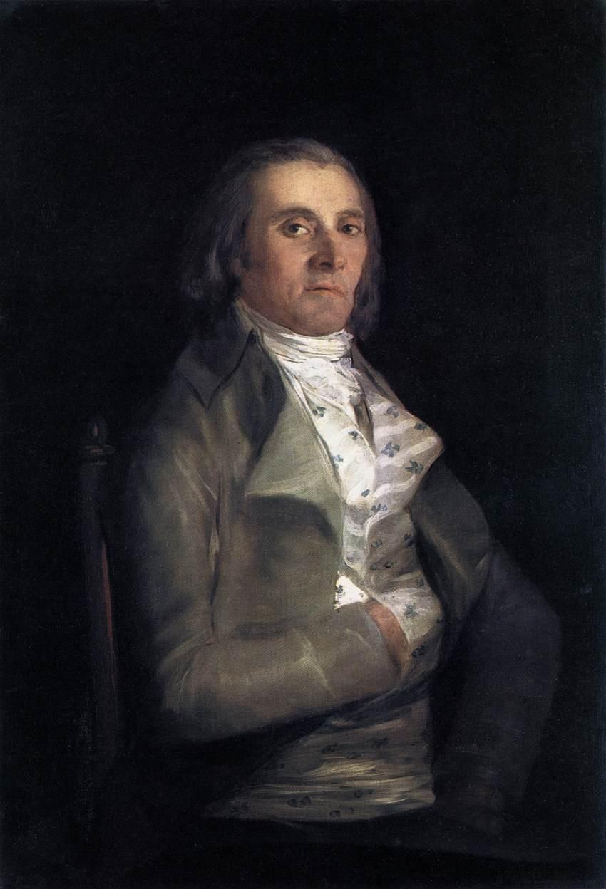 Don Andres del Peral - Francisco Goya