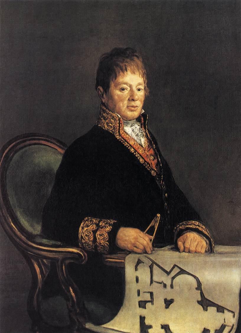 Don Juan Antonio Cuervo - Francisco Goya