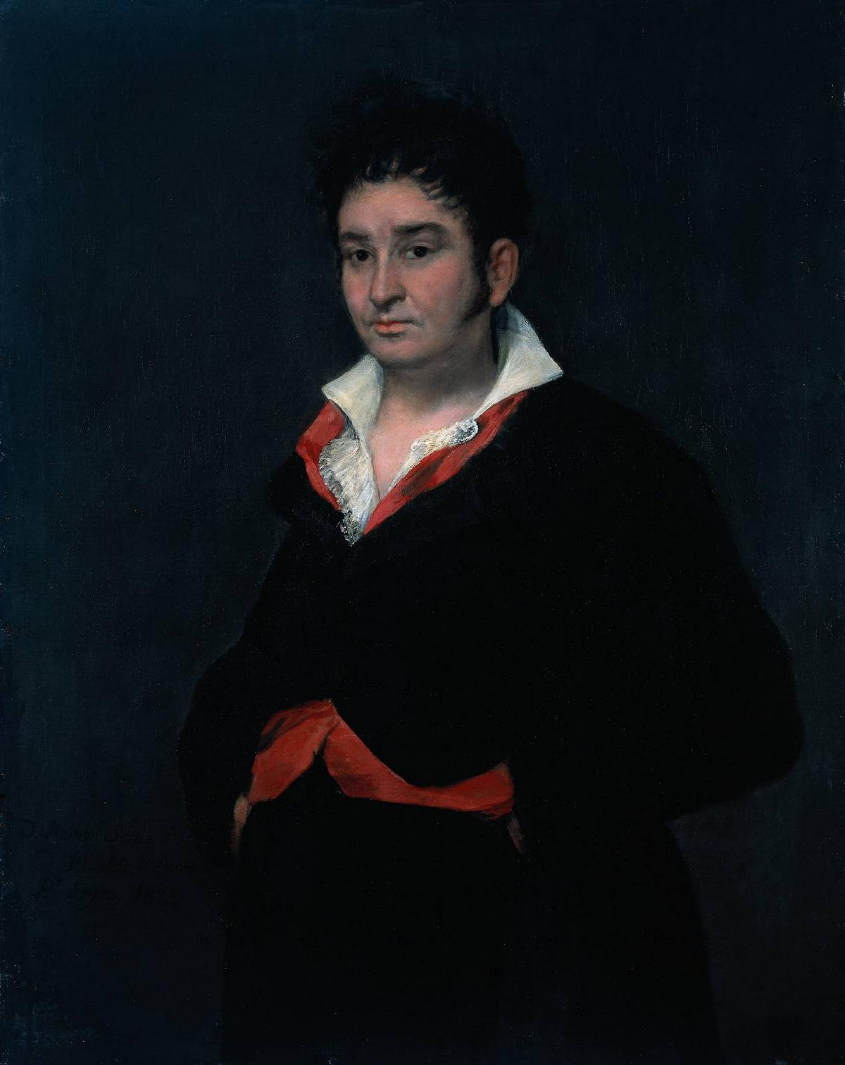 Don Ramon Satue - Francisco Goya