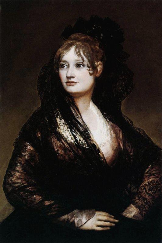 Dona Isabel de Porcel - Francisco Goya