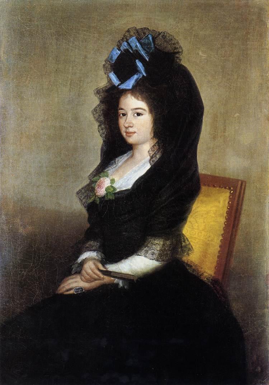 Dona Narcisa Baranana de Goicoechea - Francisco Goya