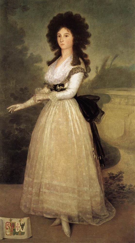 Dona Tadea Arias de Enriquez - Francisco Goya