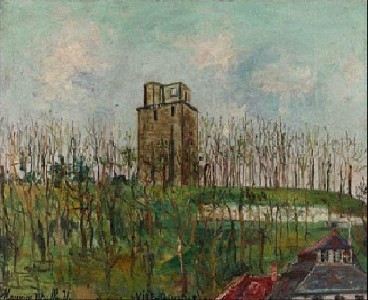 Donjon Street - Maurice Utrillo