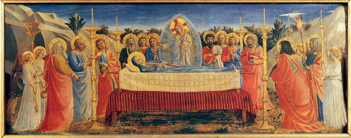 Dormition of the Virgin - Fra Angelico
