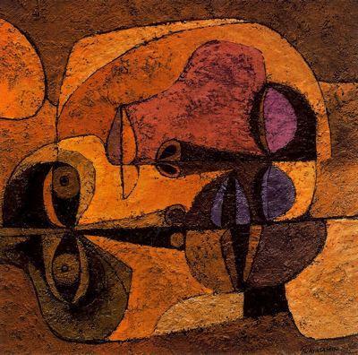 Dos Cabezas - Oswaldo Guayasamin