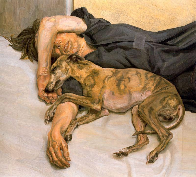 Double Portrait - Lucian Freud