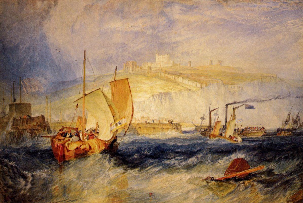 Dover Castle - William Turner