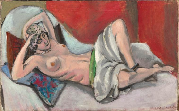 Draped Nude - Henri Matisse